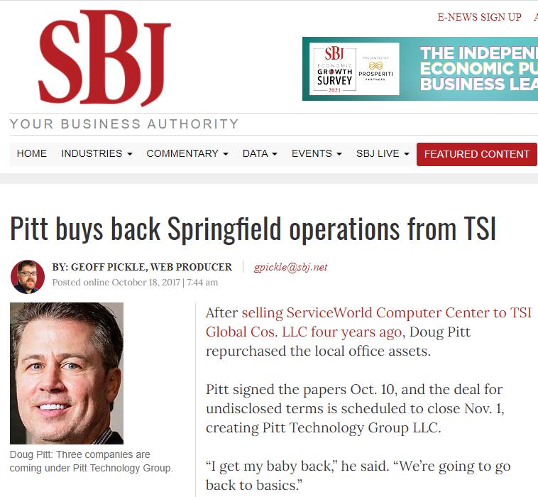 SBJ article